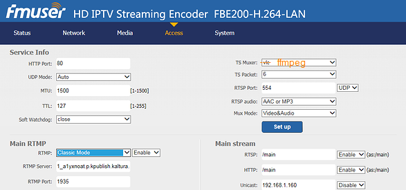 Help with streaming RTMP to Kaltura - IPTV Streaming - How to